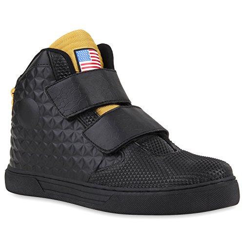 Paradis Des Bottes Unisexe Hommes Chaussures De Sport, Basket-ball Sur La Taille Flandell Nous L'or Noir