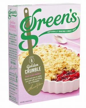 Greens Classic Crumble Mix (1 - 280 Gram Package)