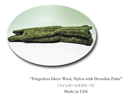 【NEWBERRY KNITTING】ニューベリーニッティング Ladies Fingerless Glove レディース?ディアスキン?フィンガーレス?グローブ
