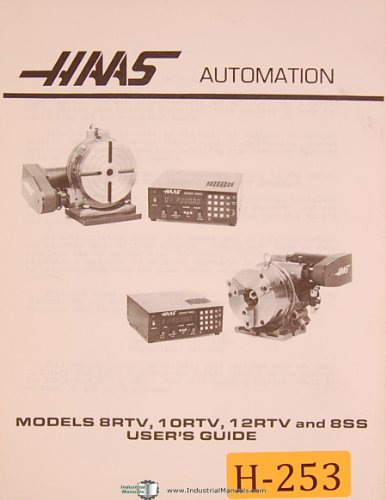 Haas 8RTV, 10RTV-12RTV & 8SS, Rotary Table, Setup and, used for sale  Delivered anywhere in USA
