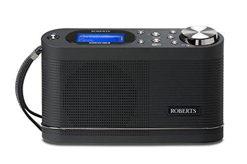 Roberts Radio Stream104 Portable DAB/DAB+/FM/Wi-Fi Internet Radio with...