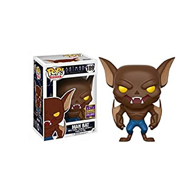 Funko Pop! SDCC 2020 Batman The Animated Series Man Bat, Limited Edition Summer Convention Exclusive: Toys & Games