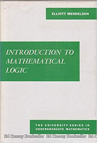 Introduction To Mathematical Logic Mendelson Pdf