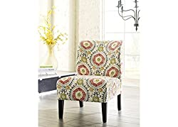 Ashley Furniture Signature Design - Honnally Accent Chair - Contemporary Style - Floral