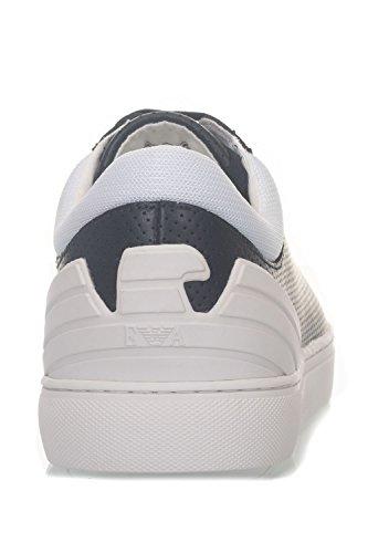 Con Uomo Sneakers Da Blu Lacci Armani Emporio zwBEqxgn