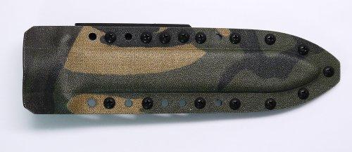 Dutch Woodland Color Kydex Sheath for Gerber Mark II (Mark 2) Knife
