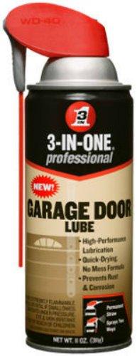 Sliding 2 Door (3-IN-ONE Professional Garage Door Lubricant with SMART STRAWSPRAYS 2 WAYS 11 OZ)