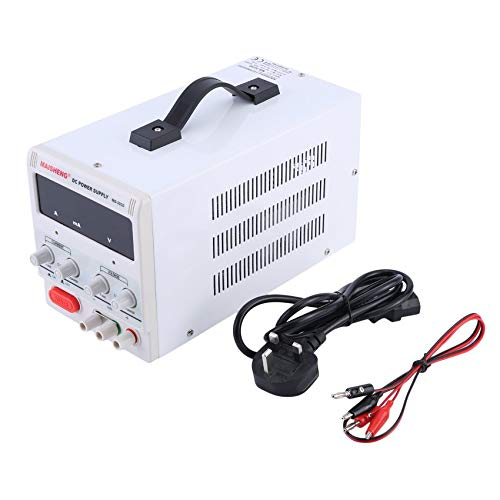 Dual Digital Display 30V 5A Lab Grade DC Power Supply High Precision Variable Adjustable for Home Factory cottonlilac