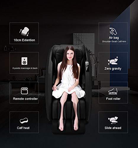 Full Body Shiatsu Massage Chair New Electric R Rothania 8 Points Rollers Recliner 3yr Warranty Beige