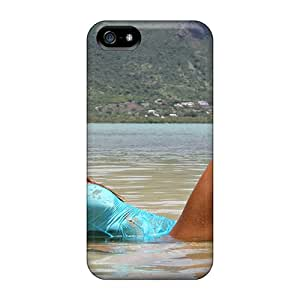 Waterdrop Snap-on Swimsuit Model Clover Case For Iphone 5/5s