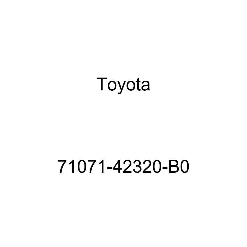 TOYOTA Genuine 71071-42320-B0 Seat Cushion Cover