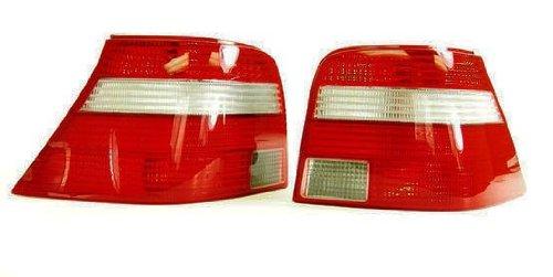 Euro Ocean Edition Red White Style Tail Light For Volkswagen VW Golf MK4 1.8T GTI 2.0 R32 V6