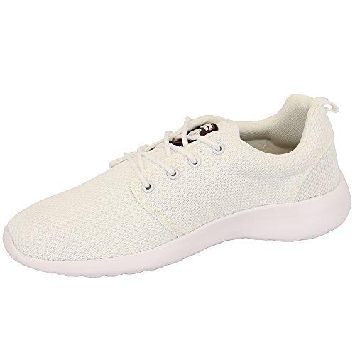 Herren Santa Monica Diver Turnschuhe Designer Gewoben Schnürer Quality Sohle Schuhe weiß - DIVER