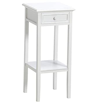 Dasmöbelwerk Großer Telefontisch Beistelltisch Weiß Landhaus H 80 Cm