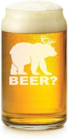 Beer Glass Pilsner Stein Mug 15oz Not Drinking Alone If The Dog Is Home Corgi