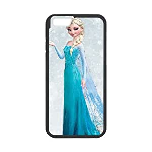 Frozen iPhone 6 Plus 5.5 Inch Cell Phone Case Black siha