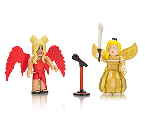 Roblox Celebrity Collection Royale Highschool: Drama Queen + Fairy World: Golden Tech Fairy (Two Figure Pack) (World Drama)