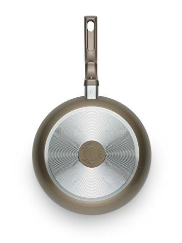 T-fal C99107 Ceramic Chef Fry Pan, 11.5-Inch, Champagne