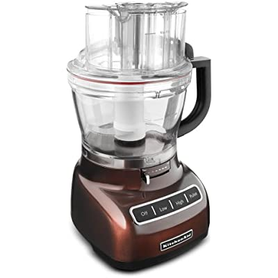 Click for KitchenAid 13-cup Die-Cast Food Processor, KFP1344: espresso