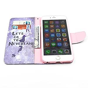 TL Liberty Pattern PU Leather Full Body Case with Card Slot and Stand for iPhone 6