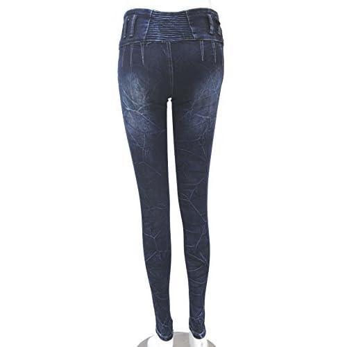 ZARINA®Denim Pantalones 8fa32fd36edc