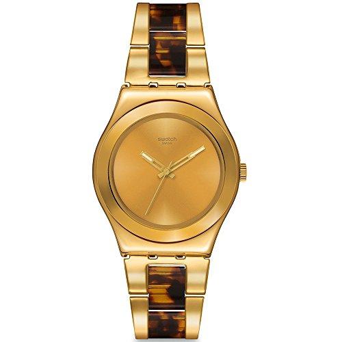 Swatch London Smoke Women's Watch - Gold tone