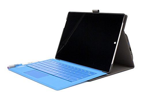 M-Edge International Surface 3 Sneak Power Charging Folio Case (MS3-SKP-LB-B) by M-Edge International (Image #3)