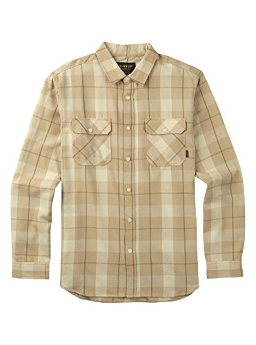 Canvas Plaid Shorts (Burton Men's Brighton Tech Flannel Top, Canvas Boxelder Plaid, Small)