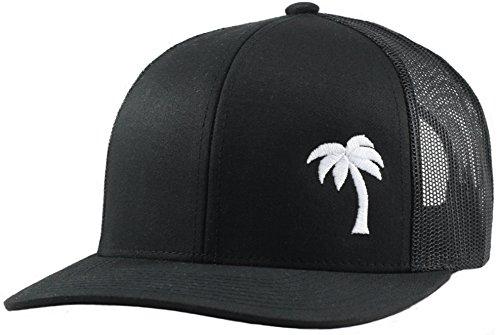 (Lindo Trucker Hat - Palm Tree Series (Black))