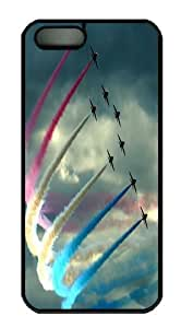 Air Show PC Case Cover for iPhone 5 and iPhone 5s Black