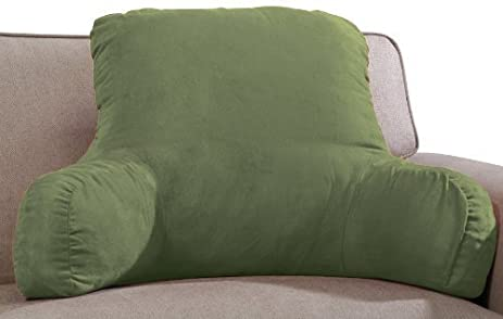 oversized price reading sit cover bedrest armrest shaggybedrestpillow up golfcolonywest shaggy walmart bed chair rest pillows size design large backrest pillow of