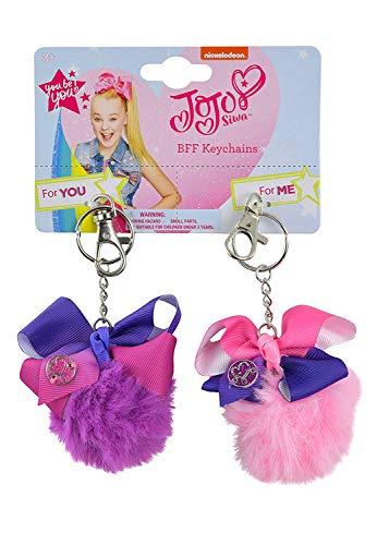 Black JOJO Siwa Lip Gloss Pom Pom Key Chain Perfect for Gifts New with Tags