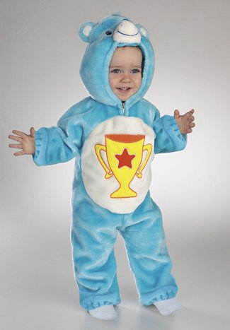 [Care Bears: Champ Bear Costume (Size 3-12 months)] (3 Bears Halloween Costumes)