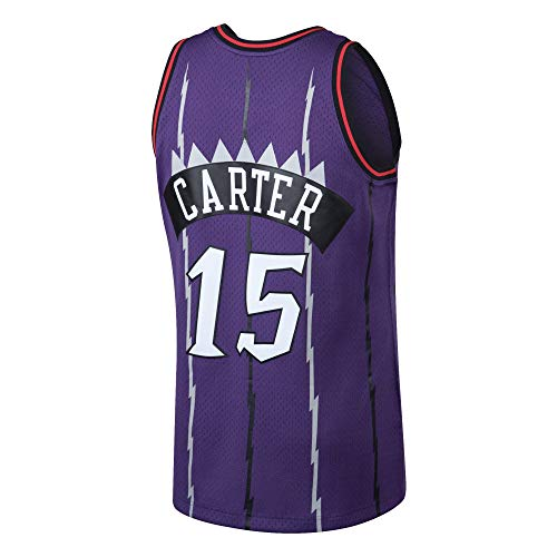 Basketball Carter Vince (Men's_Vince_Carter_Purple_Hardwood_Classics_Swingman_Jersey)