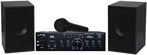 LTC KARAOKE-STAR1MKII Kit de Karaoké 2 x 50 W LOTRONIC système karaoke