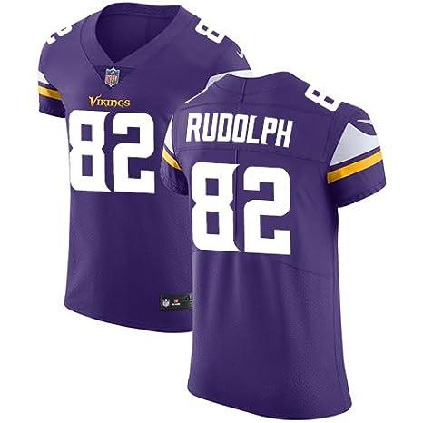 best sneakers 9133a 5dee7 Men's #82 Kyle Rudolph Purple Team Color Vapor Untouchable ...