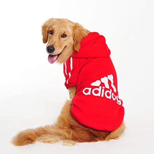 InnoPet Dog Clothes, Large Dog Adidog Hoodie Costume Outfits Sweater Dog Winter Coat Warm Sweatshirt Winter Jacket Dog…