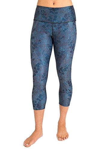 Inner Fire - Snowberry - Capri Yoga Pant - 12 - Cotton Snowberry