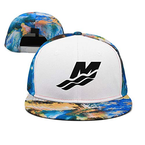 novelkseer Casual Adjustable Mercury Marine Water Logo Dad Hats Blue