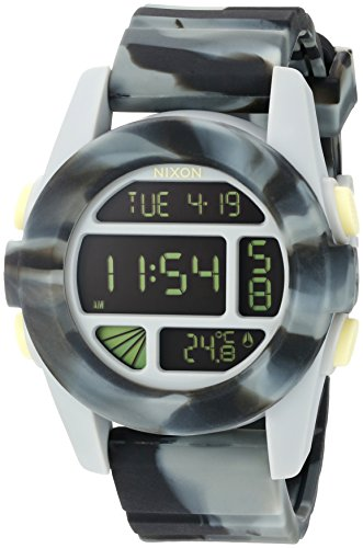 Nixon Men's A1971611-00 Unit Digital Display Automatic Self Wind Multi-Color Watch
