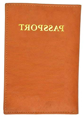 Mikash Leather Passport Cover Document Holder Card Travel Wallet US SELLER | Model TRVLWLLT - 1235 |