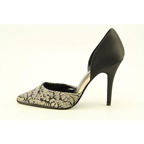 Caparros Parisian Black Gold Women's Heels Yx0wwq4n1P