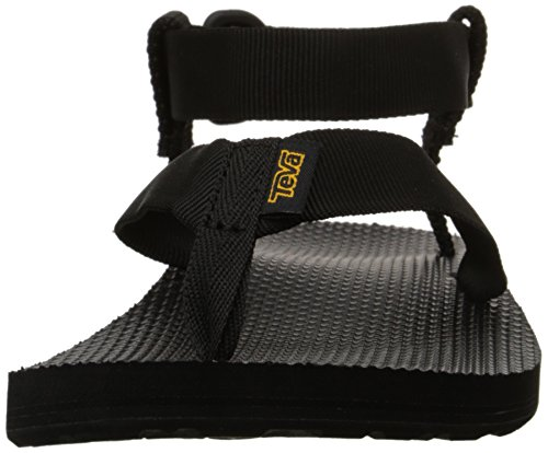 Teva Women's Original Sandal Sports and Outdoor Lifestyle Sandal Black (Black) jMdlnXP5