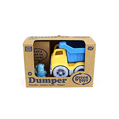 Green Toys Dumper Vehicle: Toys & Games