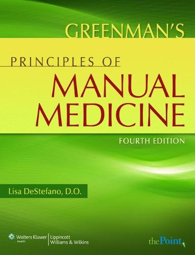 Greenman's Principles of Manual Medicine (Point (Lippincott Williams & Wilkins)) Pdf