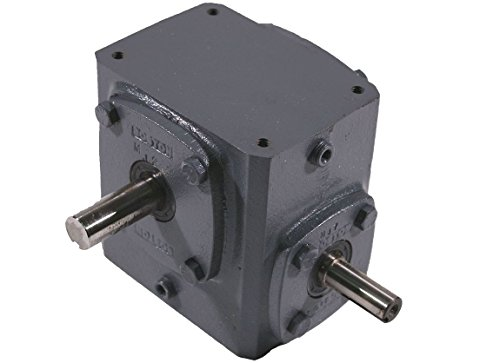 Boston Gear 715-20-J  51641 Cast Iron Worm Gear Speed Reducer, Right Angle, Single Reduction, Right Output, 20:1 Ratio, 87.5 Output rpm at 1750, 5/8