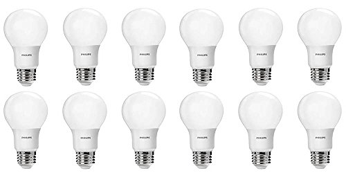 Philips-LED-Non-Dimmable-A19-Frosted-Light-Bulb-800-Lumen-2700-Kelvin-85-Watt-60-Watt-Equivalent-E26-Base-Soft-White-12-Pack