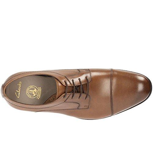 Clarks Banfield Cap - Tan Leather 8½ UK