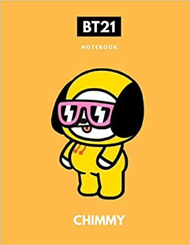 Bts Bt21 Chimmy Kpop Notebook Back To School Wide Ruled