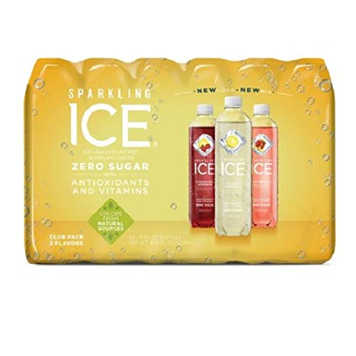 Sparkling ICE Citrus Celebration Variety Pack 17 Oz, 24 Pk. A1